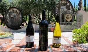 Mount Palomar Winery: Weekday or Weekend Wine Tasting for Two or Four at Mount Palomar Winery (Up to 43% Off)