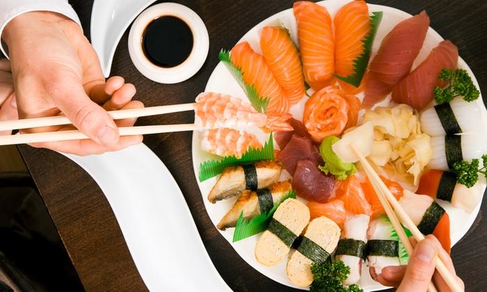 La Luna e i Falo' - desio: Menu giapponese con barca di sushi, tempura e birra da 29,90 €