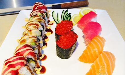 Japanese Lunch or Dinner for Two or More at Jensai Sushi (40% Off)