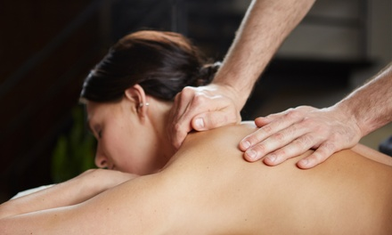 Indian Head Massage with Full Body or Back, Neck and Shoulder Massage at Fusion Beauty and Health (Up to 64% Off)