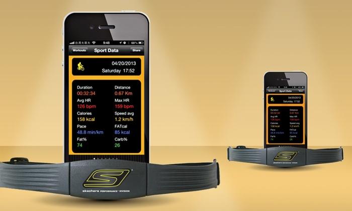 Bluetooth Heart-Rate Monitor: Skechers Go Run Bluetooth Heart-Rate Monitor (SK14). Free Returns.