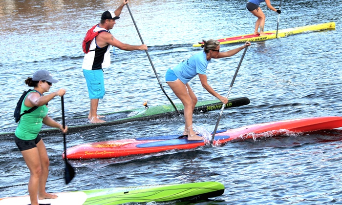 SUP Fusion - Central Fort Lauderdale: One-Hour Standup Paddleboard Rental for Two or Four or Membership to SUP Fusion (Up to 66% Off)