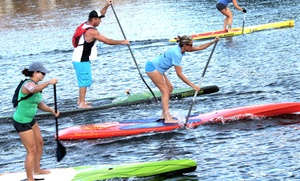 SUP Fusion: One-Hour Standup Paddleboard Rental for Two or Four or Membership to SUP Fusion (Up to 64% Off)