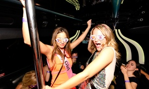 Turnt Up Tours: Nightlife Club Crawl Party for One, Two, or Four from Turnt Up Tours (Up to 58% Off)