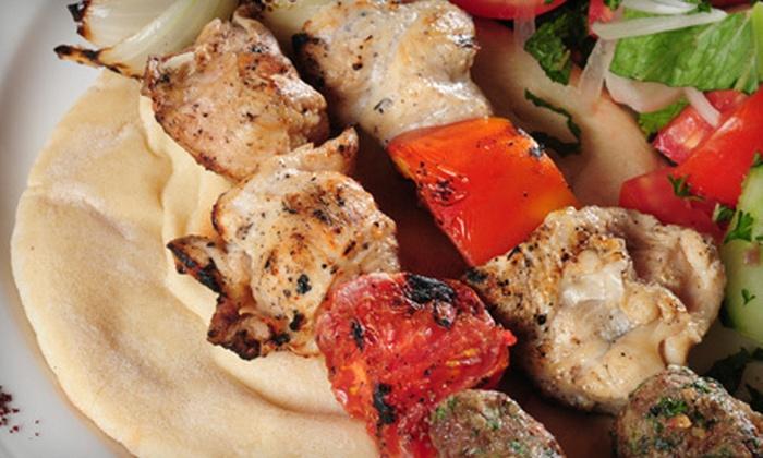 Harissa Lebanese Cuisine - Stevens: $19 for $40 Worth of Lebanese Cuisine for Dinner at Harissa Lebanese Cuisine
