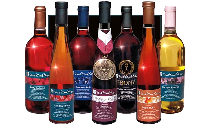 Rush Creek Wines - Aylmer: C$20 for a Winery Tour for Four with Tastings and Gift Cards at Rush Creek Wines (C$48 Value)