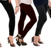 Plus Size Smooth Seamless Leggings (6-Pack)