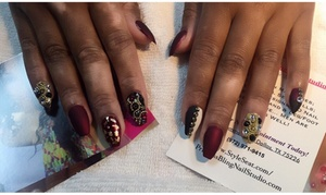 Princess Bling Nail Studio: $50 for $100 Worth of Nail Design Service — Princess Bling Nail Studio