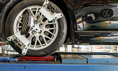 Full Wheel Alignment for One Sedan ($45), SUV ($44) or Ute ($54) at Beyond Wheelz (Up to $120 Value)