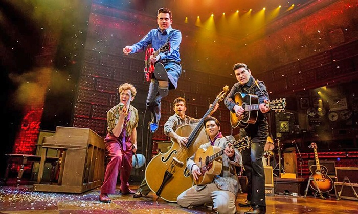 "The Million Dollar Quartet - Palace Theatre: ""Million Dollar Quartet"" at The Palace Theatre On Saturday, June 14, at 8 p.m. (Up to 42% Off)"