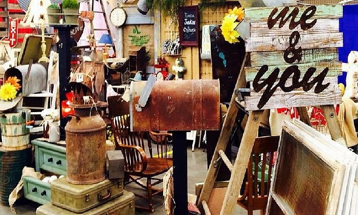 Funky Junk Roundup - Lubbock Civic Center: Antique-Junk Festival for Two or Four on Saturday, September 26, from Montage Festivals (Up to 45% Off)