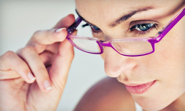 Mulqueeny Eye Centers - Saint Louis: $49 for Eye Exam and $150 Toward Prescription Lenses and Frames at Mulqueeny Eye Centers in Creve Coeur ($320 Value)