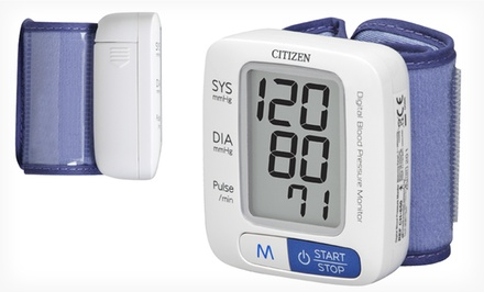 Citizen Wrist Digital Blood Pressure Monitor. Free Returns.