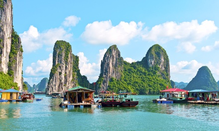 10Day Vietnam Tour or 13Day Vietnam and Cambodia Tour with Transportation and Domestic Flight*