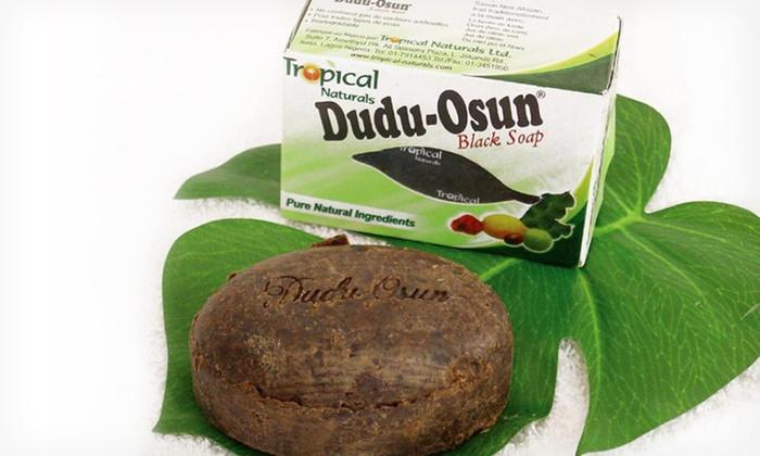 3-Pack of Dudu-Osun African Black Body Soap: 3-Pack of 5 Oz. Dudu-Osun African Black Body Soap