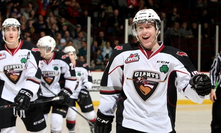 $75 for a Seven-Game Package to Vancouver Giants Junior Hockey Games at Pacific Coliseum ($153.25 Total Value)