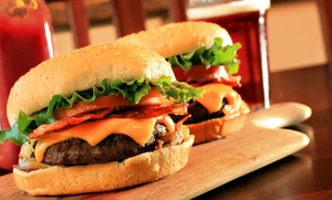 Burgers, Pub Food, And Drinks At Traxx Bar & Grill (up To 40% Off)