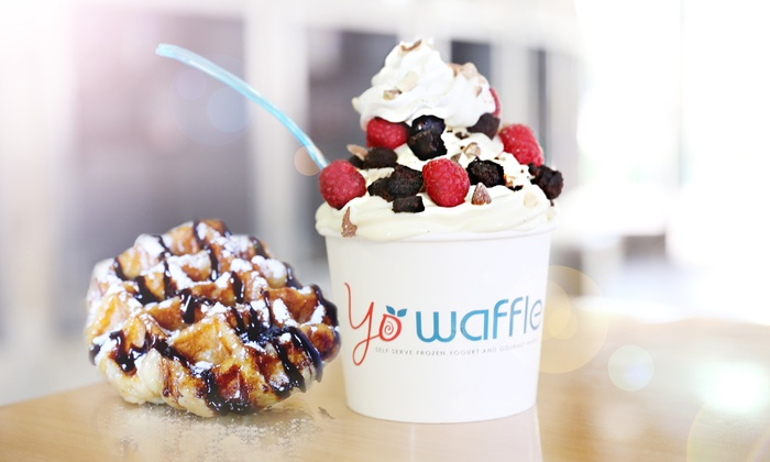 Yo Waffle - Gilbert: Frozen Yogurt and Gourmet Waffles at Yo Waffle (30% Off)