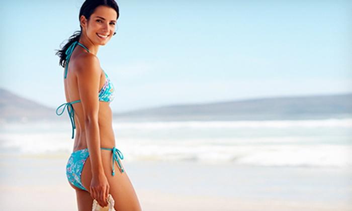 Platinum Tan & Skin Bar - Horton Plaza: One, Three, or Five Airbrush Tans at Platinum Tan & Skin Bar (Up to 67% Off)