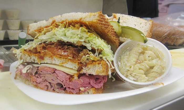 Perry's Deli - Downtown: Sandwich Meal for Two or Four or Sandwich Catering Package for 10 from Perry's Deli