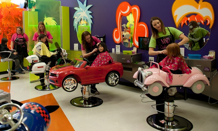 Shear Madness Haircuts for Kids - Shear Madness: $21 for a Haircut for One Child and One Adult at Shear Madness Haircuts for Kids ($29.95 Value)