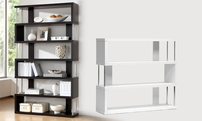 Baxton Studio Modern Shelving Units: Baxton Studio Modern Display and  Storage Shelves ...