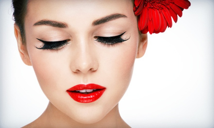 Vegas Lash and Hair Extensions - Las Vegas: Full Set of NovaLash Eyelash Extensions with Optional Fill at Vegas Lash and Hair Extensions (Up to 70% Off)
