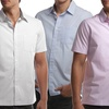Cariloha Men's Bamboo Button-Down Short Sleeve Shirts