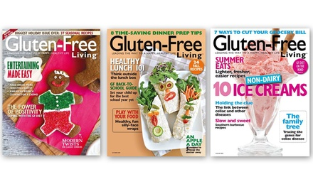 One-Year (6-Issue) Subscription to Gluten-Free Living (50% Off)