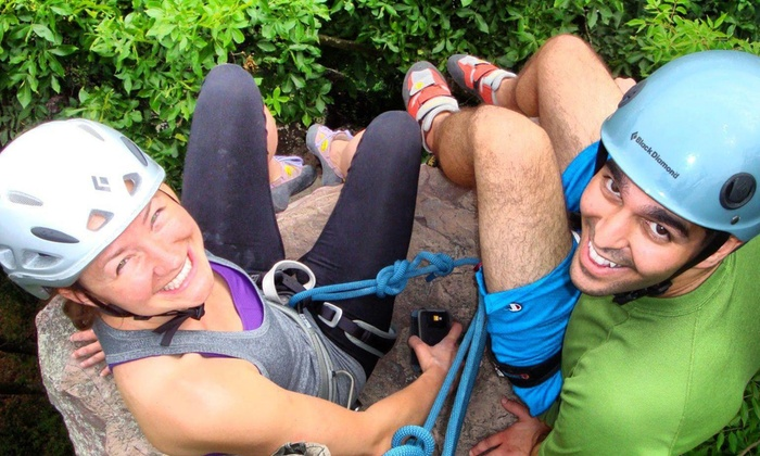 Adventures In Climbing - Devil's Lake State Park: Up to 53% Off Outdoor Rock Climbing at Adventures In Climbing