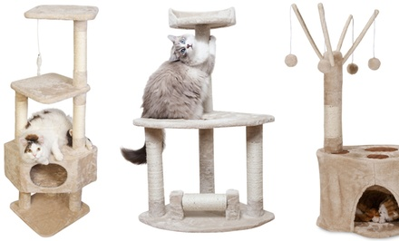 Cat Trees from $24.99–$39.99.