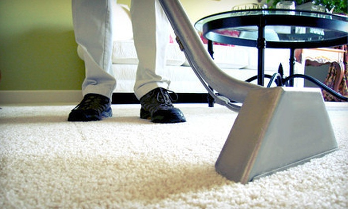 Sears Carpet & Upholstery Care - Victoria: Carpet Cleaning, or Shining for Hardwood or Laminate Floors from Sears Carpet & Upholstery Care (Up to 68% Off)