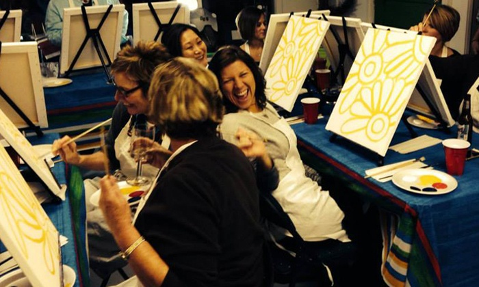 Paint and Pour - Multiple Locations: $19.99 for Two-Hour Painting Class for One at Paint and Pour Off-Site Venues ($35 Value)