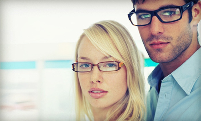Optiks International - Multiple Locations: $29 for $100 Toward Prescription Glasses with Complimentary Pair and Credit Toward Prescription at Optiks International