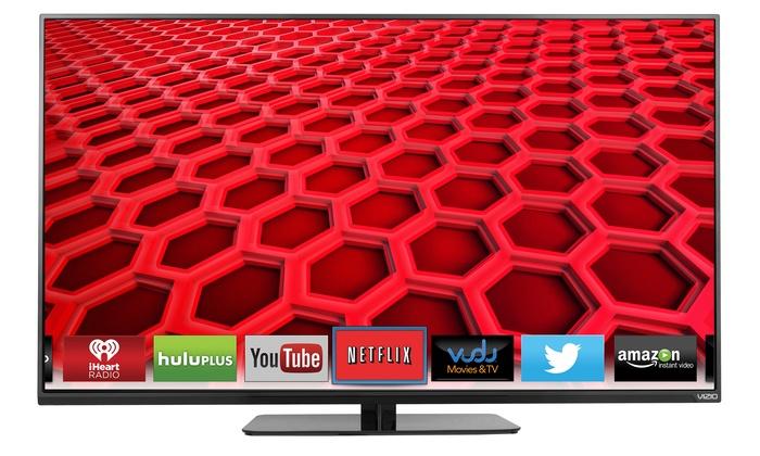 """VIZIO 48"""" 1080p 120Hz Slim-Frame Full-Array LED Smart HDTV (Manufacturer Refurbished)"""