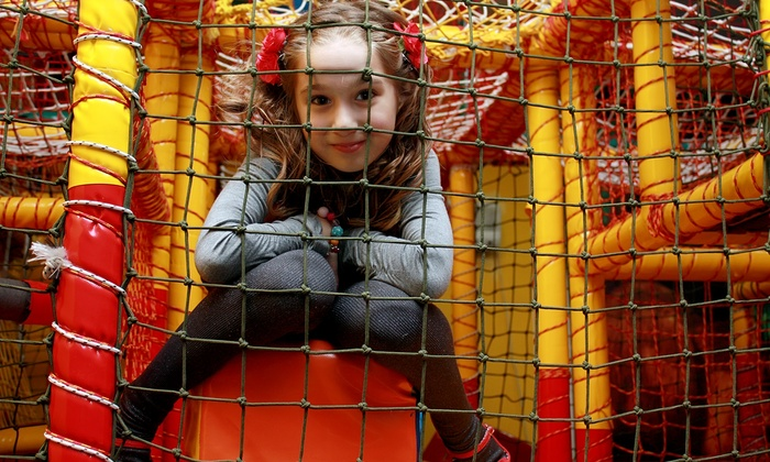 Monkey Mania  - Albuquerque: Four or Eight Open Playtime Passes for One Child at Monkey Mania (Half Off)