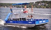 Iguana Watersports - Multiple Locations: Full-Day Deluxe Tritoon Boat or Party Barge Rental at Iguana Watersports, Inc. (Up to 51% Off)