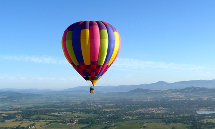 $179 for a Hot Air Balloon Ride with Champagne Toast from Sonoma Valley Balloons ($235 Value)