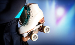 Dreamland Skate Center: Roller Skating for Two or Four with Pizza (Up to 69% Off)