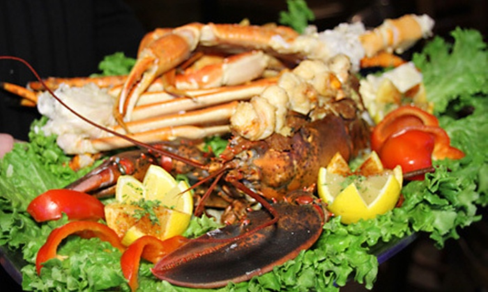 King Crab Tavern and Seafood Grill  - DePaul: Seafood and Drinks at King Crab Tavern and Seafood Grill (Up to 52% Off). Two Options Available.