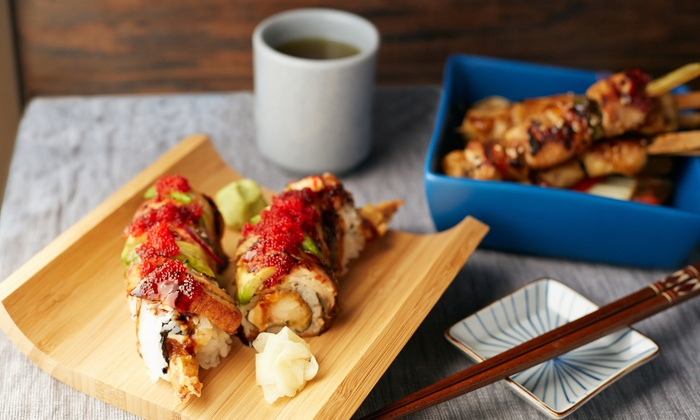 Sushi & Bento Box - Midtown South Central: $28 for $45 Toward Sushi, Japanese, and Korean Food for Two at Sushi & Bento Box