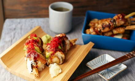 Sushi and Hibachi Fare for Dine-In or Carry-Out at Tokyo 26 (Up to 50% Off). Two Options Available.