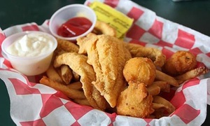 Cajun Catfish Company: Seafood and Drinks for Two or Four or More at Cajun Catfish Company (40% Off)