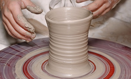 Two-Hour BYOB Wheel-Throwing Pottery Lesson for One or Two at Charlie Parker Pottery (Up to 41% Off)