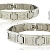 Men's Link Bracelets in Stainless Steel
