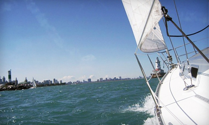 SeaBreeze Charter - Central Chicago: Two-Hour Private Sailing Trip for Up to Six on Weekdays or Weekends from SeaBreeze Charter (Half Off)