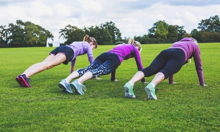 Five or Ten Boot Camp Sessions from KeepFit Bootcamp (Up to 70% Off)
