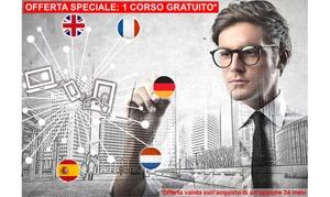 CAPTAIN LANGUAGE: Corso di lingua online con Captain Language: inglese, spagnolo, tedesco, francese e olandese (sconto fino a 96%)