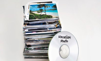 Photo To DVD Scan for Up to 1,000 Images from Scan Pics (Up to 73% Off)