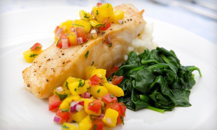 Caza - Loves Park: $20 for $40 Worth of French Food and Drinks at Caza